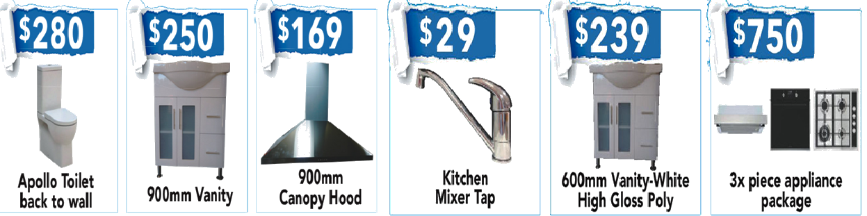 Kitchen and Bathroom products