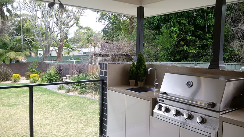 Outdoor kitchens sydney custom alfresco kitchen designs for Outdoor kitchen australia