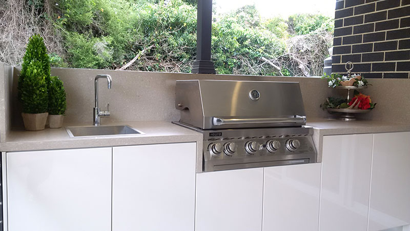 Custom made outdoor kitchens sydney paradise kitchens for Outdoor kitchen designs australia