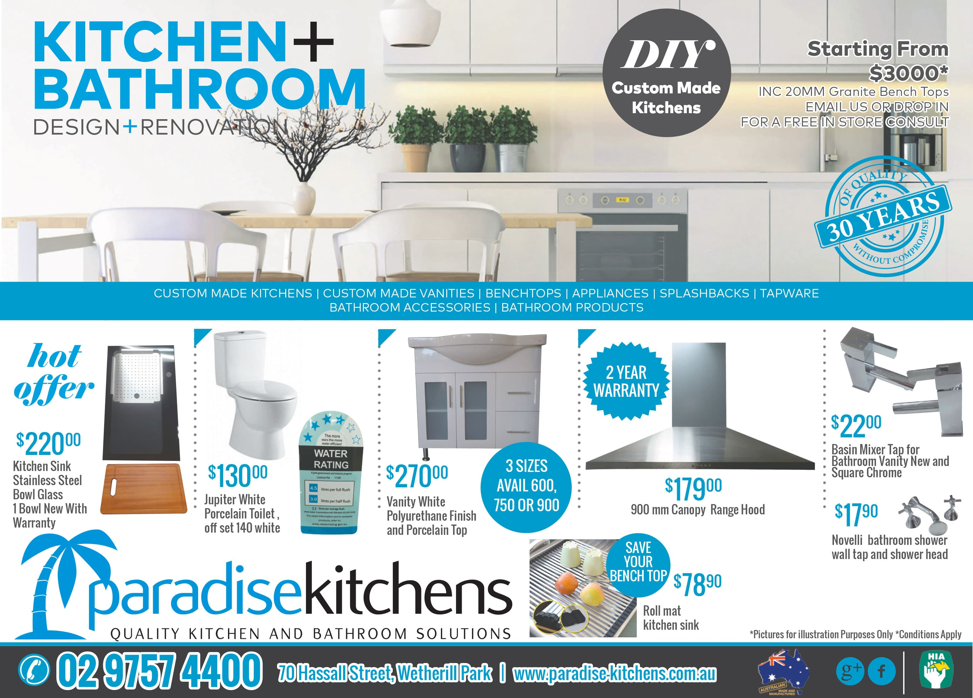 hot offers - Bathroom Accessories Melbourne