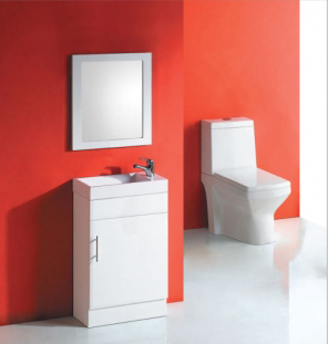 BQ7-400W - Solid Door Bathroom Vanities Sydney